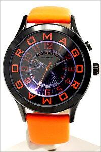 ロマゴデザイン腕時計ROMAGODESIGN時計ROMAGODESIGN腕時計ロマゴデザイン時計/メンズ/レディース/男女兼用/ユニセックス/オレンジRM015-0162ST-LUOR[おしゃれオレンジ送料無料]