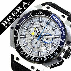 ブレラ時計BRERA腕時計ブレラオロロジ腕時計BRERAOROLOGI時計ブレラオロロジBRERAOROLOGIブレラ時計ブレラオロロジ腕時計グランツーリスモGRANTURISMOメンズ/ホワイトBRGTC5401[ビックフェイスブランド人気イタリア希少品][送料無料][mfwmbw]