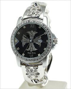 ディープゾーン腕時計DEEPZONE時計DEEPZONE腕時計ディープゾーン時計メンズ/ブラックDEEPZONE-035[バイカークロス]