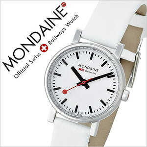 モンディーン腕時計MONDAINE時計MONDAINE腕時計モンディーン時計エヴォEvoレディース/ホワイトA6583030111SBN[おしゃれスイスA658.30301.11SBN][送料無料][10倍][プレゼント/ギフト/祝い/入学祝い]