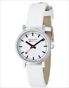 モンディーン腕時計MONDAINE時計MONDAINE腕時計モンディーン時計エヴォEvoレディース/ホワイトA6583030111SBN[おしゃれ送料無料スイスA658.30301.11SBN]