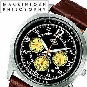 マッキントッシュフィロソフィー腕時計MACKINTOSHPHILOSOPHY時計MACKINTOSHPHILOSOPHY腕時計マッキントッシュフィロソフィー時計ブリストルbristolメンズ/ブラックFBZV992[おしゃれアンティークデザインSEIKOセイコー][送料無料][mpw][10倍]