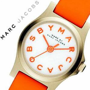 マークバイマークジェイコブス時計MARCBYMARCJACOBS時計マークジェイコブス腕時計MARCJACOBS腕時計マークバイ時計MARCBY時計マークバイMARCBY[マーク/MARC]ヘンリーディンキー/レディース/ホワイト/白/オレンジMBM1236[レザーベルト/革][人気][送料無料]