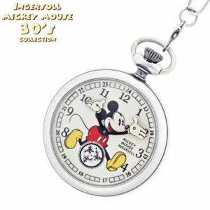 ミッキーマウス インガソール時計 MICKEY MOUSE懐中時計 INGERSOLL MICKEY MOUSE 時計 懐中時計 ミ...