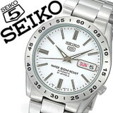 【延長保証対象】セイコー 腕時計 メンズ SEIKO 時計 セイコー 時計 セイコー 海外モデル セイコー ファイブ セイコー5 セイコー 逆輸入 海外セイコー セイコー時計 SNKD97J1 SNKD97JC ホワイト 国産 日本製 送料無料