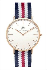 ダニエルウェリントン腕時計DanielWellington時計DanielWellington腕時計ダニエルウェリントン時計クラシックカンタベリーローズCLASSIC40mmメンズ/レディース/ユニセックス/オフホワイト0102DW