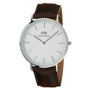 ダニエルウェリントン腕時計DanielWellington時計DanielWellington腕時計ダニエルウェリントン時計クラシックブリストルシルバーCLASSIC40mmメンズ/レディース/ユニセックス/ホワイト0209DW