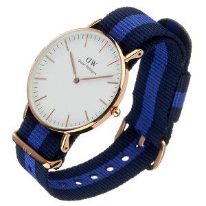 ダニエルウェリントン腕時計DanielWellington時計DanielWellington腕時計ダニエルウェリントン時計クラシックスウォンジローズCLASSIC36mmメンズ/レディース/ユニセックス/オフホワイト0504DW