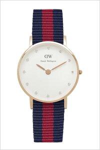 ダニエルウェリントン腕時計DanielWellington時計DanielWellington腕時計ダニエルウェリントン時計クラッシーオックスフォードローズCLASSY26mmメンズ/レディース/ユニセックス/オフホワイト0905DW