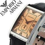 エンポリオアルマーニ腕時計EMPORIOARMANI時計EMPORIOARMANI腕時計エンポリオアルマーニ時計メンズ/ライトブラウンAR1605[アナログブランドダークブラウン][革ベルト革ベルトおしゃれ本革イタリアブランド祝いギフト][送料無料][mfw][mpw]