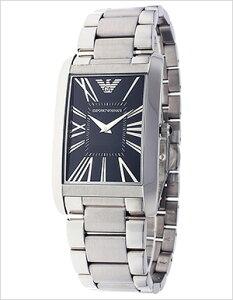 エンポリオアルマーニ腕時計EMPORIOARMANI時計EMPORIOARMANI腕時計エンポリオアルマーニ時計メンズ/ブラックAR2053[アナログブランド送料無料シルバー]