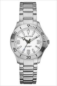 【送料無料】ノーティカ腕時計NAUTICA時計NAUTICA腕時計ノーティカ時計デイトMスポーツアクティブNAC102SPORTACTIVEレディース/ホワイトA13504M[アナログシルバーおしゃれ][芸能人雑誌掲載通販アメリカンブランド]