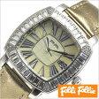 フォリフォリ腕時計[ FolliFollie腕時計 ]フォリフォリ 時計 FolliFollie 時計 フォリフォリ 腕時計 Folli Follie フォリ フォリ 腕時計 フォリフォリ時計 ジルコニア べゼル/レディース/イエローシェル WF7A024SDIGO [デザインウォッチ/シンプル/薄型][送料無料]
