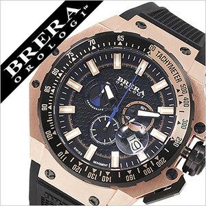 ブレラオロロジ腕時計ブレラオロロジ腕時計ブレラ時計BRERAOROLOGI時計BRERAOROLOGI腕時計ブレラオロロジ時計グランツーリスモGRANTURISMOメンズ/ブラックローズゴールドBRGTC5408[グラントゥーリズモ6針スイス製ローズゴールド青ブルー][mfwmbw]