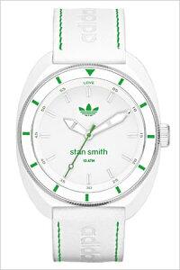 adidas時計アディダス腕時計ADIDASORIGINALS時計ADIDASORIGINALS腕時計アディダス時計スタンスミスSTANSMITHメンズレディースホワイトグリーンADH2931[人気カラフルスポーツウォッチレザー&シリコン緑][かわいい生活防水ブランド][送料無料][mpw]
