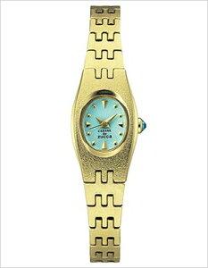 カバンドズッカ腕時計CABANEdeZUCCA時計CABANEdeZUCCA腕時計カバンドズッカ時計オアシスOASISレディース/ライトブルーAJGK041[アナログかわいいセイコーゴールドメッキ金青水色3針][送料無料]