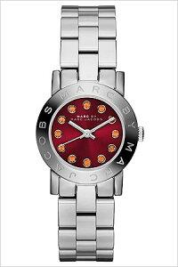 マークバイマークジェイコブス腕時計MARCBYMARCJACOBS時計MARCBYMARCJACOBS腕時計マークバイマークジェイコブス時計スモールエイミークリスタルSmallAmyCrystalレディースMBM3335[メタルバンドクリスタルレッドシルバー赤銀3針][かわいい][送料無料]