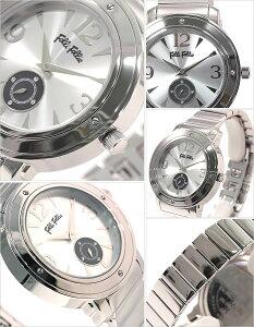 【バレンタイン限定特価】フォリフォリ腕時計[選べる2種類!]FolliFollie時計フォリフォリFolliFollieフォリフォリ時計フォリフォリ腕時計レディースメンズ[激安メタルベルト新作ジルコニアジュエリーストーンダイヤクリスタル黒銀白ブランド防水]