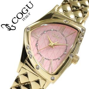 コグ腕時計COGU時計コグ時計COGU腕時計コグ腕時計cogu時計コグ時計cogu腕時計レディース腕時計/ピンクBS02-TMPG[アナログメタルベルトクリスタル/ストーンゴールド桃金3針][おしゃれかわいいブランド生活防水ビジネス][送料無料]