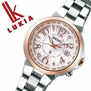 [信頼の国内正規品](セイコールキア腕時計)[ルキア時計][LUKIA時計]セイコー腕時計[ルキア時計]SEIKO腕時計(セイコールキア時計)ルキア(LUKIA)レディース/人気/ピンクSSQV004[ソーラー電波時計/ラッキーパスポートシリーズ/シルバー][送料無料]