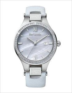 ギラロッシュ腕時計GuyLaroche時計GuyLaroche腕時計ギラロッシュ時計メンズレディースユニセックス/男女兼用/ホワイトL1003-01[アナログTIMEPIECESボーイズシルバー白/銀3針][送料無料]