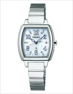 セイコー腕時計SEIKO時計SEIKO腕時計セイコー時計ルキアLUKIAレディース/ライトブルーSSVW065[アナログソーラー電波時計ことりっぷパリ限定モデル限定1000本1B22][送料無料]