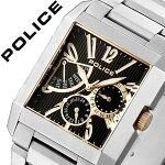 【信頼の国内正規品】ポリス腕時計[POLICE腕時計]ポリス時計[POLICE時計]ポリス腕時計[POLICE腕時計]ポリス時計[POLICE時計]キングスアベニューKING'SAVENUEメンズ/ブラック13789MS-02MA[メタルベルト/シルバー/ゴールド/銀/黒/金/6針][送料無料]