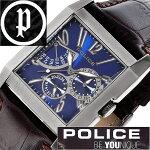 【信頼の国内正規品】ポリス腕時計[POLICE腕時計]ポリス時計[POLICE時計]ポリス腕時計[POLICE腕時計]ポリス時計[POLICE時計]キングスアベニューKING'SAVENUEメンズ/ブルー13789MSU-03[革ベルト/ブラック/黒/青/6針][人気/新作][送料無料]
