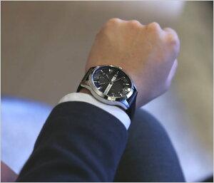 【レビュー★4.5以上!】アルマーニエクスチェンジ腕時計[ArmaniExchange時計]アルマーニエクスチェンジ時計(ArmaniExchange腕時計)アルマーニ時計/Armani時計/メンズ/ブラック/AX2101[新作/人気/ブランド/ビジネス/革ベルト/プレゼント/ギフト][送料無料]
