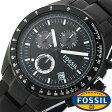 フォッシル 時計 [ FOSSIL 時計 ] フォッシル 腕時計 [ FOSSIL 腕時計] フォッシル時計 [ FOSSIL時計 ] フォッシル腕時計 [ FOSSIL腕時計 ] デッカー DECKER メンズ/レディース/ブラック CH2601[人気/新作/ビジネス/防水/クロノグラフ/カレンダー][送料無料]