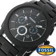 フォッシル 時計 [ FOSSIL 時計 ] フォッシル 腕時計 [ FOSSIL 腕時計] フォッシル時計 [ FOSSIL時計 ] フォッシル腕時計 [ FOSSIL腕時計 ] マシーン MACHINE メンズ/レディース/ブラック FS4552[人気/新作/日付機能/日付表示/メタルベルト 革ベルト 多数取り扱い][送料無料]