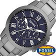 フォッシル 時計 [ FOSSIL 時計 ] フォッシル 腕時計 [ FOSSIL 腕時計] フォッシル時計 [ FOSSIL時計 ] フォッシル腕時計 [ FOSSIL腕時計 ] グラント GRANT メンズ/レディース/ブラック FS4831 [人気/新作/ビジネス/防水/クロノグラフ/カレンダー][送料無料]
