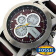 フォッシル 時計 [ FOSSIL 時計 ] フォッシル 腕時計 [ FOSSIL 腕時計] フォッシル時計 [ FOSSIL時計 ] フォッシル腕時計 [ FOSSIL腕時計 ] ジェイク JAKE メンズ/レディース/ブラウン JR1157[人気/新作/日付機能/日付表示/メタルベルト 革ベルト 多数取り扱い][送料無料]