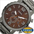 フォッシル 時計 [ FOSSIL 時計 ] フォッシル 腕時計 [ FOSSIL 腕時計] フォッシル時計 [ FOSSIL時計 ] フォッシル腕時計 [ FOSSIL腕時計 ] [NATE]メンズ/木目柄/JR1355[人気/新作/ビジネス/防水/クロノグラフ/カレンダー][送料無料][プレゼント/ギフト]