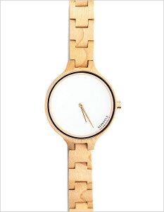 カーボルツ腕時計KERBHOLZ時計KERBHOLZ腕時計カーボルツ時計ヒンゼメープルHinzeMapleレディース/ホワイトKERBHOLZ-007[ハンドメイド木製腕時計ドイツメイプルウッド木/白3針][木製ウッド天然木手作り職人アクセサリーおしゃれブランド][送料無料]