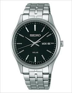 [2月7日頃入荷予定!]セイコー腕時計SEIKO時計SEIKO腕時計セイコー時計スピリットSPIRITメンズ/ブラックSBPX069[アナログ/ソーラー/モデルシルバー銀/黒3針V158][送料無料]