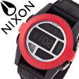 ニクソン 時計 [ NIXON 時計 ] ニクソン 腕時計 [ NIXON ] ニクソン時計 [ NIXON時計 ] バハ BAJA ALL BLACK / RED メンズ/レディース/ブラック A489760-00 [デジタル/デジタル表示/デジタル液晶/ブラック] [人気/新作/サーフ/スノー/防水/マリンスポーツ][送料無料]