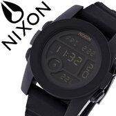 ニクソン 腕時計 [ NIXON 腕時計 ] ニクソン 時計 [ NIXON ] ニクソン腕時計 [ NIXON腕時計 ] ユニット UNIT 40 ALL BLACK メンズ/レディース/ブラック A490001-00 [デジタル/デジタル表示/デジタル液晶/ブラック] [人気/スポーツ/ブランド/サーフィン/防水][送料無料]