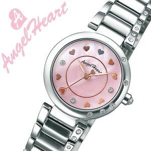 エンジェルハート時計[AngelHeart時計]エンジェルハート腕時計[AngelHeart時計]エンジェルハート時計AngelHeart腕時計エンジェルハート腕時計プラチナムレーベル/レディース/ピンクパールPT24SS-LIMITED[限定/シルバー/ローズ/ピンクゴールド][送料無料]