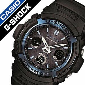 カシオ腕時計CASIO時計CASIO腕時計カシオ時計GショックG-SHOCKメンズ/ブラックAWG-M100A-1AJF[アナデジ/タフソーラー/電波時計/デジタル/液晶/防水/ホワイト/グレー][送料無料]