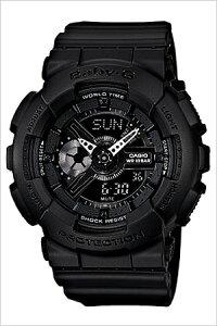 カシオ腕時計CASIO時計CASIO腕時計カシオ時計ベイビーGBABY-Gレディース/ブラックBA-110BC-1A[アナデジ/デジタル/液晶/防水/オールブラック/ベビーG][送料無料]