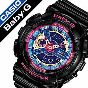カシオ腕時計CASIO時計CASIO腕時計カシオ時計ベイビーGBABY-Gレディース/ブルーBA-112-1A[アナデジ/デジタル/液晶/防水/ブラック/ピンク/ベビーG][送料無料]