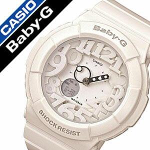 カシオ腕時計CASIO時計CASIO腕時計カシオ時計ベイビーGBABY-Gレディース/ホワイトBGA-131-7BJF[アナデジ/デジタル/液晶/防水/マルチカラー/ネオン/シンプル/ベビーG][送料無料]