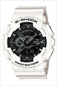GA-110GW-7Aカシオジーショック[CASIO/G-SHOCK]Gショック[GSHOCK/GSHOCK]ジーショック時計/ジーショック腕時計[gshock時計/gshock腕時計]メンズ/ブラック[アナデジ/デジタル/液晶/防水/ホワイト/グレー/モノクロ][送料無料]