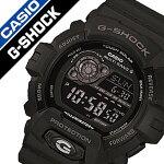 カシオ腕時計CASIO時計CASIO腕時計カシオ時計GショックG-SHOCKメンズ/ブラックGW-8900A-1JF[デジタル/タフソーラー/電波時計/液晶/防水/オールブラック/グレー][送料無料]
