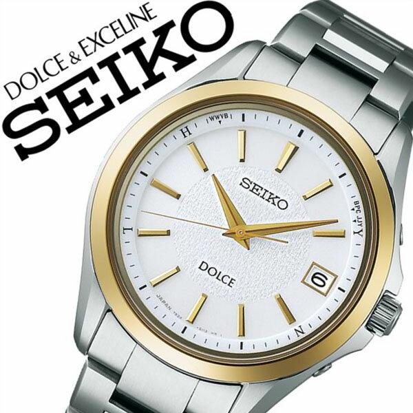 1a36fa3ea5bf セイコー ドルチェ&エクセリーヌ 腕時計 SEIKO 時計 SEIKO腕時計 セイコー時計 DOLCE&EXCELINE メンズ シルバー  SADZ178