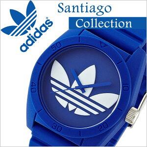 adidas時計[アディダス腕時計]adidasoriginals腕時計[アディダスオリジナルス時計]adidasoriginals腕時計[アディダス時計]adidas時計サンティアゴSANTIAGOメンズ/レディース/ホワイトADH6169[シリコンベルト/人気/新作/防水/ブランド/ブルー/シンプル]