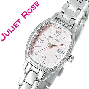 ジュリエットローズ腕時計JULIETROSE時計JULIETROSE腕時計ジュリエットローズ時計/JULIETROSE/ジュリエットローズ/レディース/ピンクJUL203S-09M[おしゃれ/生活防水/シルバー/ホワイト/メタルベルト/クリスタルストーン][送料無料]