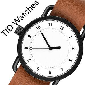 ティッドウォッチ腕時計TIDWatches時計TIDWatches腕時計ティッドウォッチ時計TIDNo.1メンズ/レディース/ホワイトTID01-WH-T[新作/ブランド/人気/プレゼント/ギフト/ペア/ペアウォッチ/革ベルト/おしゃれ/防水/替え/北欧/アナログ/ブラウン/ブラック][送料無料]