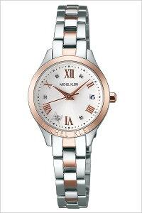 【3年保証対象】ミッシェルクラン腕時計MICHELKLEIN時計MICHELKLEIN腕時計ミッシェルクラン時計レディース/ホワイトAJCT003[メタルベルト/正規品/クォーツ/おしゃれ/かわいい/SEIKO/シルバー/ローズゴールド][送料無料]
